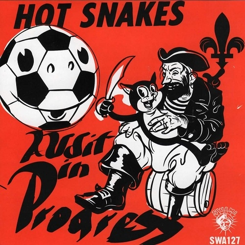 "HOT SNAKES ""Audit In Progress"" CD"