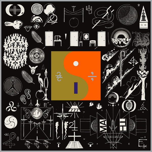 "BON IVER ""22 a million"" CD"