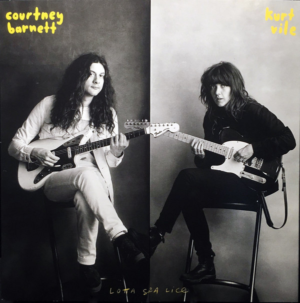 "COURTNEY BARNETT & KURT VILE ""Lotta sea lice"" LP"
