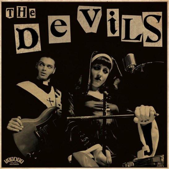 "THE DEVILS ""Sin, you sinners"" LP"