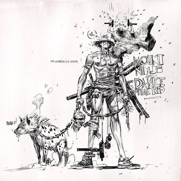 "DIE ANTWOORD ""Mount ninji and da nice time kid"" LP"