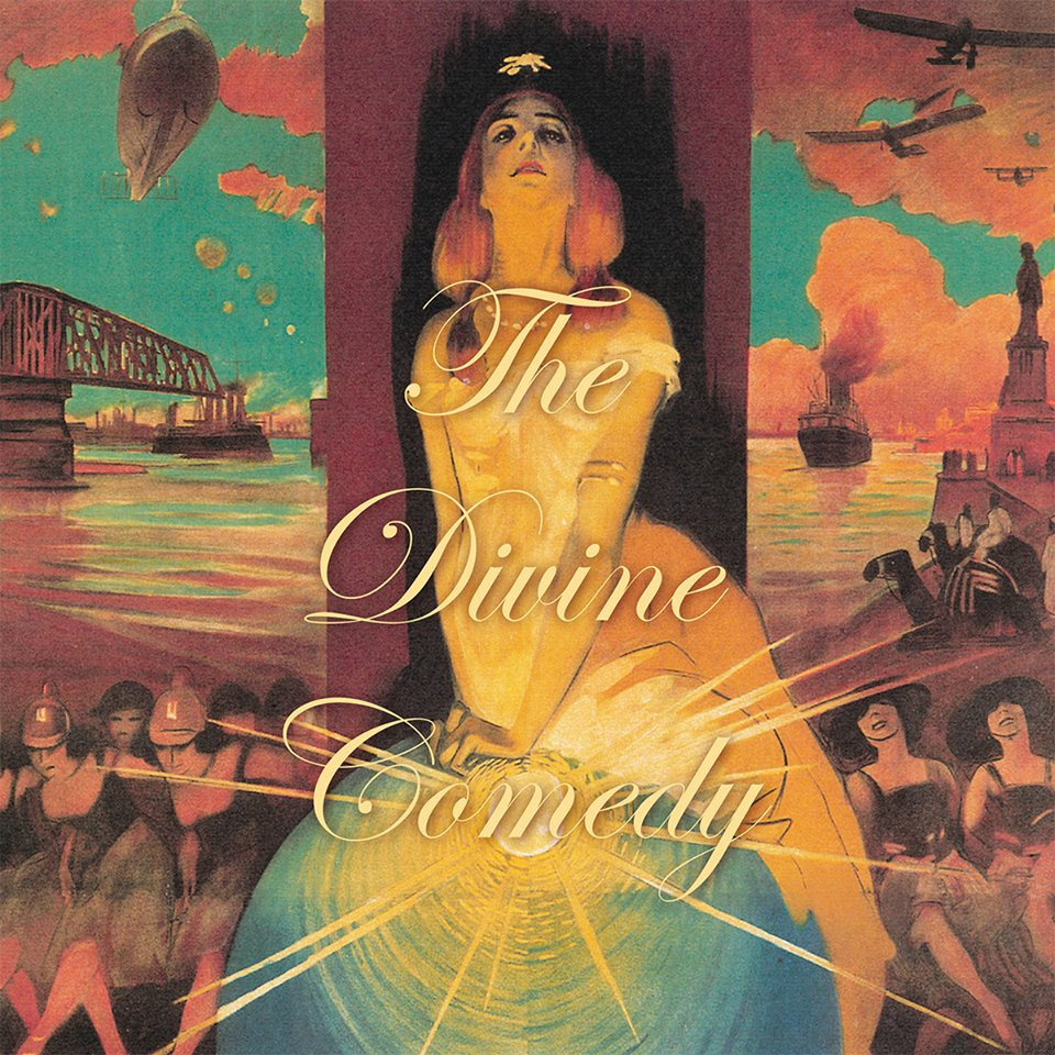 "THE DIVINE COMEDY ""Foreverland"" CD"