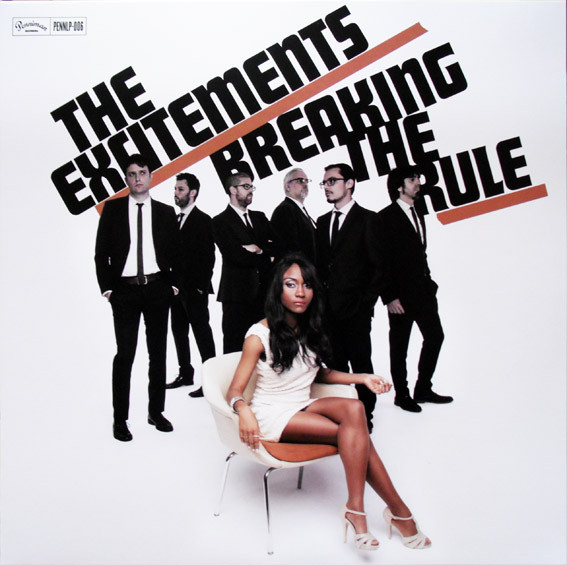 "THE EXCITEMENTS ""Breaking the rule"" CD"
