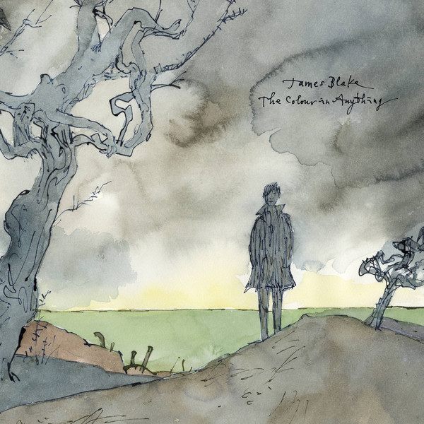 "JAMES BLAKE ""The colour of anything"" 2LP"