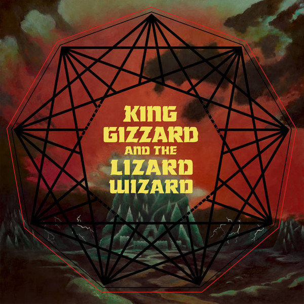 "KING GIZZARD & THE LIZARD WIZARD ""Nonagon infinity"" LP"