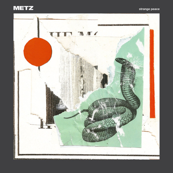 "METZ ""Strange peace"" CD"
