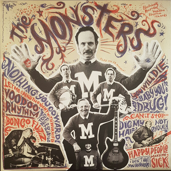 "THE MONSTERS ""M"" LP"