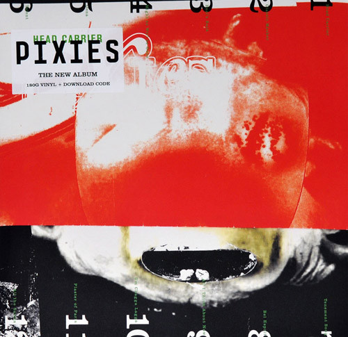 "PIXIES ""Head carrier"" LP"