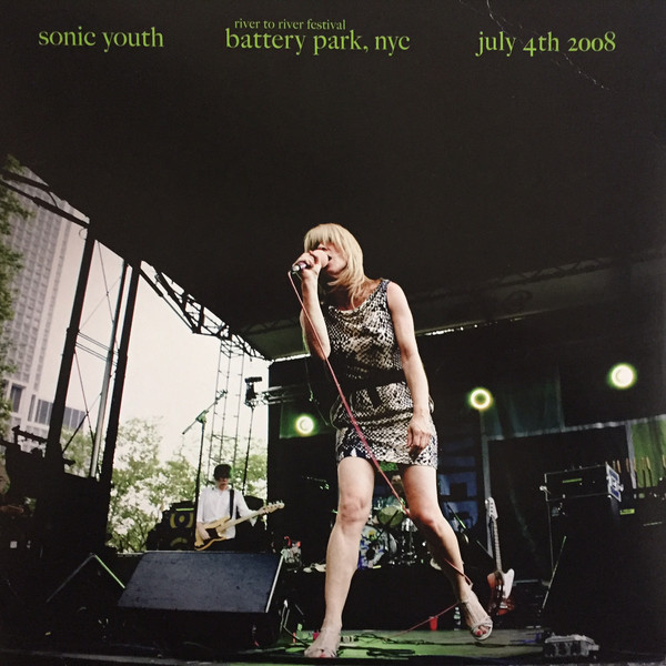 "SONIC YOUTH ""Battery park, nyc"" VINYL"