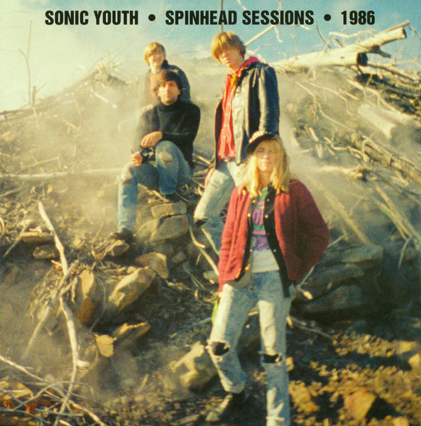 "SONIC YOUTH ""Spinhead sessions"" LP"
