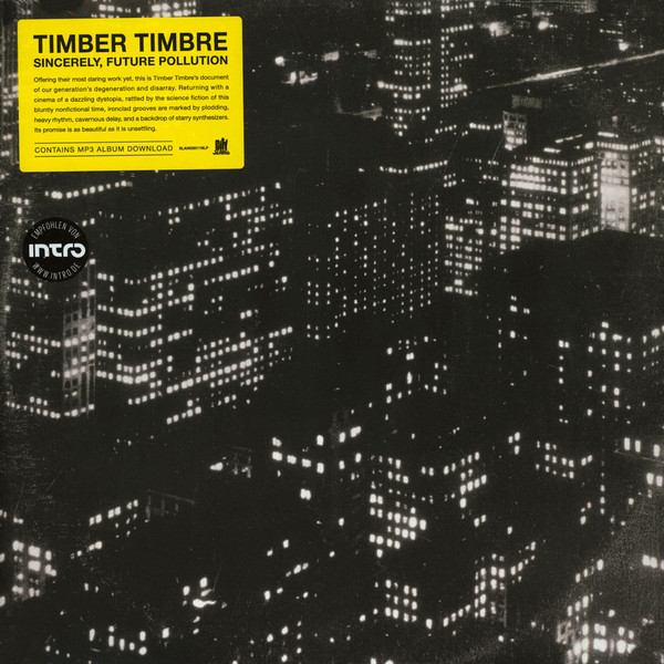 "TIMBER TIMBRE ""Sincerely, future pollution"" CD"