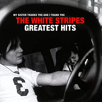 "THE WHITE STRIPES ""Greatest hits"" DOUBLE VINYL"